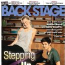 Heather Morris, Harry Shum Jr. - Back Stage Magazine Cover [United States] (5 May 2011)