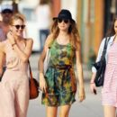 Behati Prinsloo Strolls Around NYC