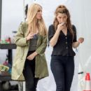 Annabelle Wallis – On the set of 'Boss Level' in Atlanta - 454 x 681