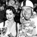Susan Cummings With Racer Carroll Shelby 1956 - 400 x 503