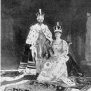 Queen Mary and King George V - 454 x 600