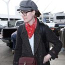 Evan Rachel Wood at LAX Airport in Los Angeles - 454 x 558