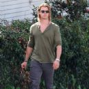 Chris Hemsworth Heads To Kafe K