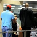 Lamar Odom spotted at Wells Fargo Bank  in Beverly Hills, California on January 31, 2017 - 454 x 368