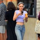 Lily Rose Depp – Out and about in New York