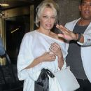 Pamela Anderson – Leaving 'Entertainment Tonight' in New York