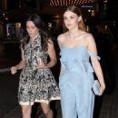 Holland Roden -  Leaving Rachel Zoe's Pop-Up Store Event - February, 23