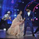 Deepika Padukone & Arjun Kapoor at the screening of the movie Finding Fanny in Mumbai. September 10, 2014 - 454 x 301