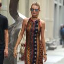 Behati Prinsloo Out and About In Soho