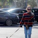 Ashley Tisdale – Walking her dog in Bel Air