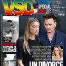 Johnny Depp, Amber Heard - VSD Magazine Cover [France] (9 June 2016)