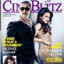 Akshay Kumar, Sonakshi Sinha - Cinéblitz Magazine Pictorial [India] (August 2013) - 422 x 550