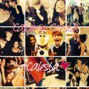 Calum Worthy and Celesta DeAstis - 454 x 605