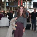 Keira Knightley – Arriving with the Eurostar in Paris