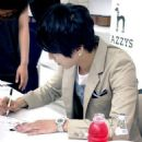 Jung Yong Hwa At Hazzys fan sign event