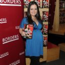 Danica McKellar Promotes 'Hot X: Algebra Exposed' At Borders Books & Music, Columbus Circle On August 4, 2010 In New York City - 454 x 622