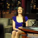 Rachel Weisz At The David Letterman Show