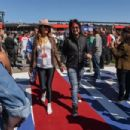 Nikki Sixx attends the Monster Energy NASCAR Cup Series race at Auto Club Speedway at Auto Club Speedway on March 17, 2019 in Fontana, California - 454 x 303