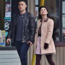 Michael Socha and Emilie de Ravin