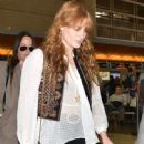 Florence Welch departing on a flight at LAX airport in Los Angeles, California on September 4, 2015 - 448 x 600