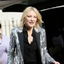 Cate Blanchett – Arriving at the Late Late Show with James Corden in London - 454 x 681