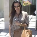 """RHOBH"" Star Kyle Richards Takes Her Birkin Bag Shopping"