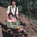 Bill Bixby Pushes His Wife in A Wheel Barrel and Both Are Loving It! - 289 x 450