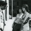 Elsa Martinelli, Antonella Lualdi and Franco Interlenghi