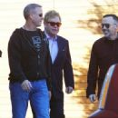 Elton John does some shopping in West Hollywood, California with his husband David Furnish on January 2, 2015 - 454 x 542