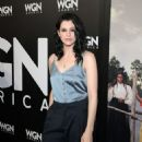 Actress Jessica de Gouw attends the WGN America Winter TCA at Langham Hotel on January 13, 2017 in Pasadena, California - 454 x 599