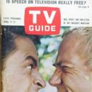Ray Walston - TV Guide Magazine Cover [United States] (11 April 1964)