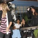 Lindsay Lohan & Her Camel Toe At Taverna Tony In Malibu & Locked Out Samantha Ronson's House, 2009-07-17