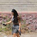 Kim Kardashian – Leaves a studio in Los Angeles