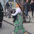 Sophia Bush in Long Dress out and NYC - 454 x 563