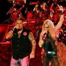 Jim Gillette and Lita Ford