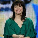 """Demi Lovato of the television show """"Sonny with a Chance"""" attends the Disney/ABC Television Group portion of the 2009 Winter Television Critics Association Press Tour at the Universal Hilton Hotel on January 16, 2009 in Los Angeles"""