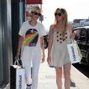 Lindsay Lohan And Samantha Ronson Shopping In Los Angeles, 2008-06-21