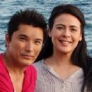 Albert Martinez and Dawn Zulueta
