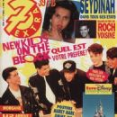 New Kids on the Block - 7 Extra Magazine Cover [Belgium] (22 April 1992)