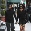 Asap Rocky and Chanel Iman - 400 x 600