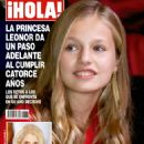 Infanta Leonor of Spain - Hola! Magazine Cover [Mexico] (14 November 2019)
