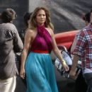 Jennifer Lopez: arrival to the studios in Los Angeles