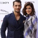 David Gandy and Marie Nasemann Attends Jaguar Event
