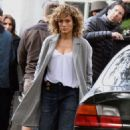 Jennifer Lopez – On the set of 'Shades of Blue' in Queens