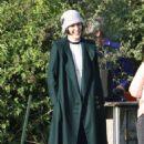 Michelle Dockery – Filming the 'Downton Abbey' in Bath - 454 x 690