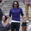 Russell Brand's Continuing Quest for Sobriety