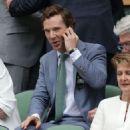Benedict Cumberbatch- July 12, 2015-Day Thirteen: The Championships - Wimbledon 2015