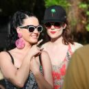 Katy Perry Mac Cosmetics Pool Party In Palm Springs