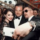 Charlotte Riley, Leonardo DiCaprio and Tom Hardy At The 88th Annual Academy Awards (2016)