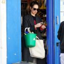 Lily James – Shopping candids during Coronavirus lockdown in London